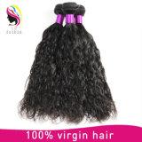 Venda por grosso de 100% Onda Natural Extensão de cabelo humano Remy Hair tecem