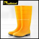 Ботинки дождя безопасности Wellington, смещают упорные женщины W-6036 ботинок дождя