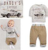 子供の衣服のスーツの動悸が付いている男の子のTシャツ