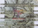 ベージュ壁は飾るガラスストリップの特別なモザイク(CFS688)を