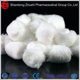 Blanca de algodón 100% algodón hidrófilo médicos ovillo de lana