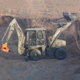Maquinaria agrícola, la excavadora cargadora retroexcavadora 7t para la venta