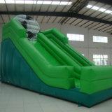 Les diapositives vert gonflables jouets gonflables.