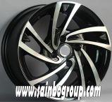 Borda da roda da liga de alumínio para todos os carros