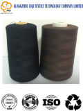 Met de hand breiend Borduurwerk 100% Leverancier van de Vervaardiging van de Naaiende Draden van de Stof van de Polyester