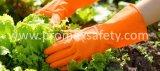 il TUFFO 45g si è affollato il guanto arancione del lattice della famiglia