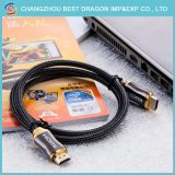 Hochgeschwindigkeits-Kabel 4K 1.4V 1080P 3D des Ethernet-HDMI