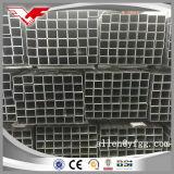 Квадратная Tianjin крупноразмерная черная сваренная и прямоугольная слабая фабрика стальной трубы
