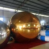 sfera dello specchio dell'oro della decorazione della fase della sfilata di moda di 2m