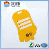 Изготовленный на заказ бирка багажа PVC печатание с перемещением