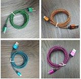 Caricatore più veloce del micro di Colorfull del cavo di nylon del USB e cavo di sincronizzazione di dati per il Mobile di Andriod