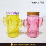 De uitstekende kwaliteit Gekleurde Kruiken van de Metselaar van het Glas met Handvat