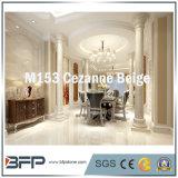 Colonna di marmo beige di M153 Cezanne per la decorazione interna & esterna