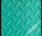 Espárrago de plástico de PVC antideslizante Mat