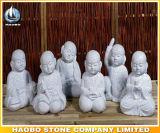 Statua di risata di pietra del Buddha fatta a mano
