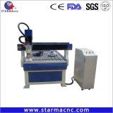 メーカー価格CNC機械6090在庫のアクリルPVCアルミニウムのための1218年の広告CNCのルーター