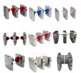 304 Turnstile van de Hoogte van de Vingerafdruk van de Lezer van de Kaart van het roestvrij staal RFID Volledige