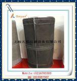 De carbón del negro bolso de filtro de la fibra de vidrio del álcali no con E-PTFE