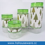4PCS Different Size Christmas Tree Sheet, Knell Gravel bank Set, Knell Canister Set