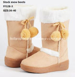 La plus défunte injection amorce les chaussures courantes de gaines de l'hiver de gaines de neige (FF328-3)