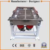 углеродистая сталь с двойным виброгрохот линейного перемещения приводного электродвигателя