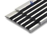 Flair d'escalier de tapis de carborundum de glissade de carreau de céramique non