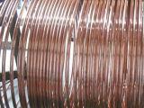 Acero de cobre de la capa que pone a tierra alrededor del conductor