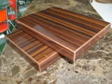 Деревянный кухонный шкаф кухни MDF меламина (ZH-K21)