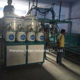 80 estações de dosagem de cores PU derramando equipamento da máquina para Sândalo