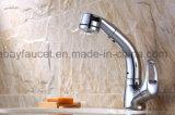 Poignée en laiton à levier unique tirez Salle de bains appuyez sur