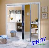 glace de miroir de sûreté desserrée par vinyle de 3mm - de 6mm pour les portes coulissantes, Modules, garde-robes, meubles
