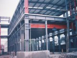 Frame de aço claro do espaço para o edifício da construção/estrutura de aço do estacionamento