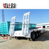 [كنستروكأيشن مشنري] نقل 60 طن منخفضة سرير [سمي] شاحنة مقطورة