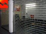Дверь ролика магазина двери завальцовки высокой эффективности прозрачная кристаллический для сбывания