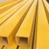 Profil de fibre de verre d'utilisation de l'industrie, FRP Produits avec belle forme
