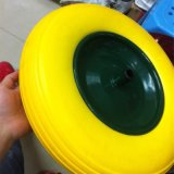 4.00-8 sólido de goma espuma de poliuretano neumático para la carretilla de mano y de motos