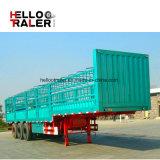 3 de Zijgevel van de as/de Aanhangwagen van de Lading van de Omheining voor Vervoer van de Lading stortgoed met Beste Kwaliteit