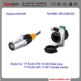 IP65 video connettore impermeabile Connector/RJ45 del Governo LED