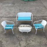 Сталь 4PCS Mohairsder набор плетеной мебели в таблице+стулья