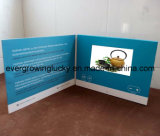 4.3inch affissione a cristalli liquidi Screen Video Brochure con Custom Printing