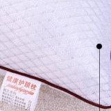 O sémen confortável Cassia preenchido o tecido de algodão 100% travesseiro do côncavo para a enfermagem