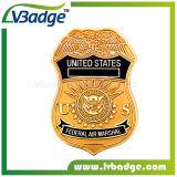米国は金属のバッジのギフトのためのバッジの治安を維持する