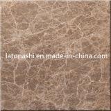 Marron安く自然な軽いEmperadorブラウンの石造りの大理石のタイル