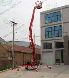 Alta qualità idraulica Tirare-dietro la vendita rimorchiata di Platformfor dell'elevatore