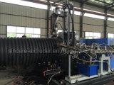 De HDPE na parede do tubo do Enrolamento Estruturado Espigão Sino de suporte tornando a máquina