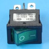 2 Palo 4pin Rocker Switch T125 5e4 con il LED