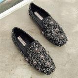 shoes 새로운 디자인 흑일색 여가 단 하나 숙녀