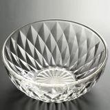 5PCS освобождают шар плодоовощ салата кристаллический стекла установленный для Tableware