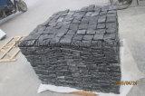 Pietra per lastricati 100*100mm, 150*150mm. del Hebei Balck della zona della decorazione dell'ardesia di pavimentazione del giardino naturale delle mattonelle