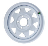 Колесо стали спицы отверстия 8 дюйма 5 колес 13 оправ автомобиля